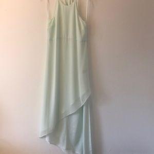 Asymmetrical Mint BCBGeneration Dress